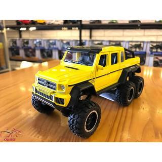 Xe mô hình hợp kim Mercedes-Benz G63 NEWAO ALLOY màu vàng
