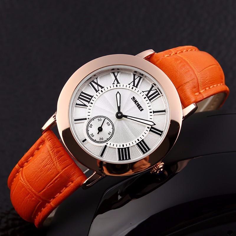 Đồng hồ nữ Skmei FAIRY 1083 chính hãng (dây Cam)