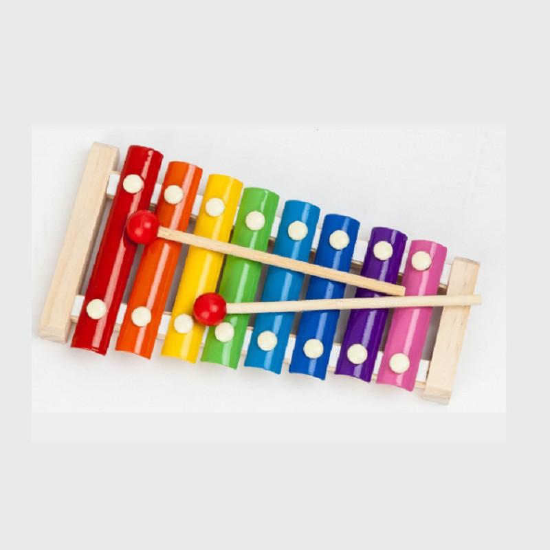 Đàn trẻ em – Mô hình đàn mộc cầm gỗ 8 nốt Xylophone – ĐỒ CHƠI TRÍ TUỆ - Phát...
