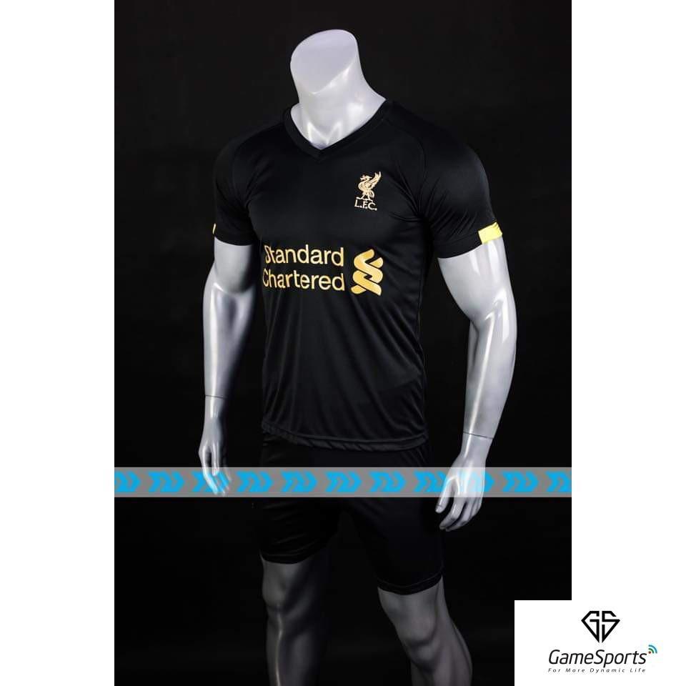 [ Thun thái ] Áo bóng đá Fantasy ATT018 trắng kẻ đen ( bộ quần áo đá bóng thiết kế , bộ quần áo thể thao )