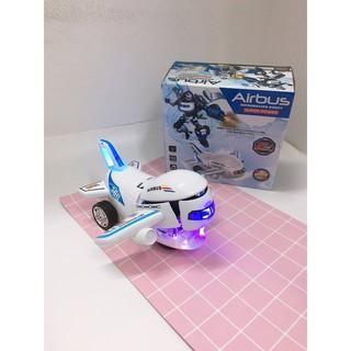 Máy Bay Biến Hình Thành Robot Phát Nhạc Vui Nhộn