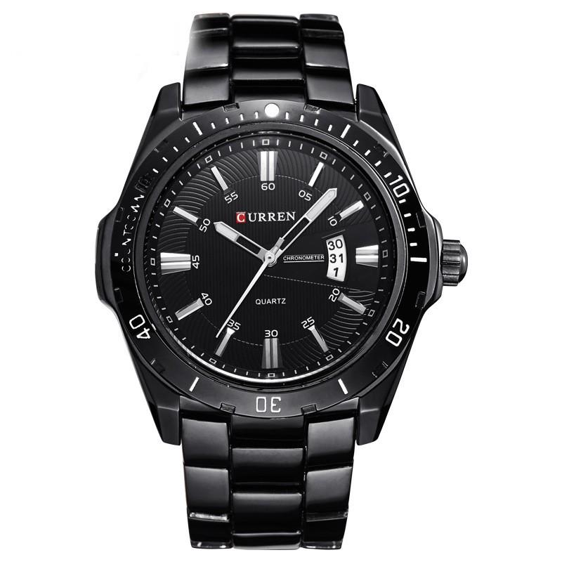 Đồng hồ thời trang nam dây kim loại cao cấp Curren