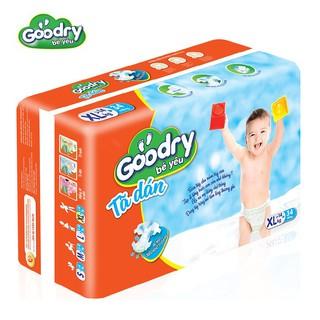 Tã dán Goodry XL34 thấm hút thông minh