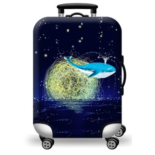 Túi bọc bảo vệ vali- Cá voi và trăng thumbnail