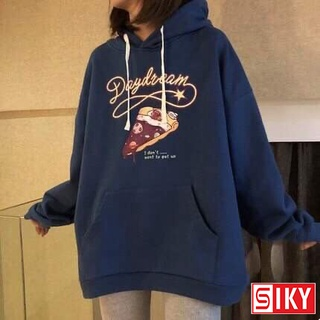Áo hoodie nỉ họa tiết hình bánh pizza phong cách Hàn Quốc - SIKY HX07 thumbnail