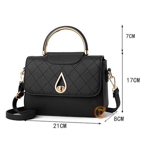Túi xách nữ túi xách tay giọt lệ mã B019
