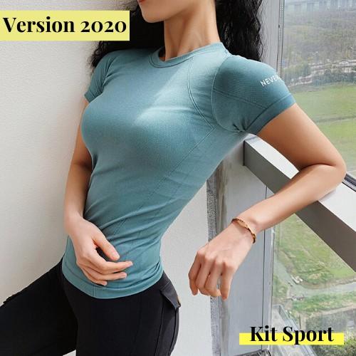 Áo Thể Thao Nữ Never Stop (Đồ Tập Gym,Yoga) (Không Quần) - Cửa Hàng Kit Sport Việt Nam
