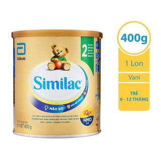 Sữa bột Abbott Similac IQ HMO 2 400g_Subaby