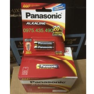Pin Đũa Panasonic AAA LR03T/2B 1,5V