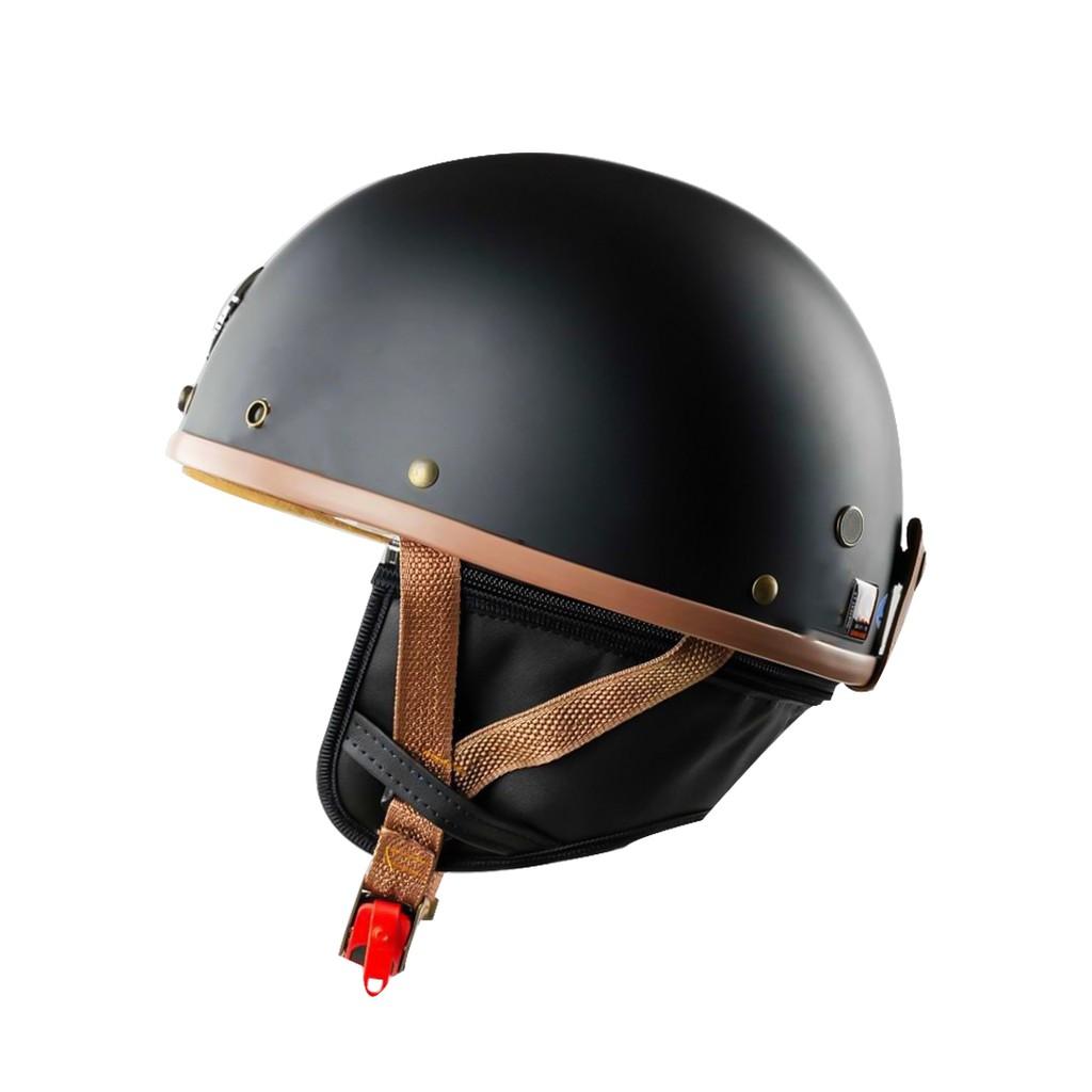Mũ Bảo Hiểm Nữa Đầu Cho Xe Moto Napoli Haley N04 - Bảo Hành 12 Tháng