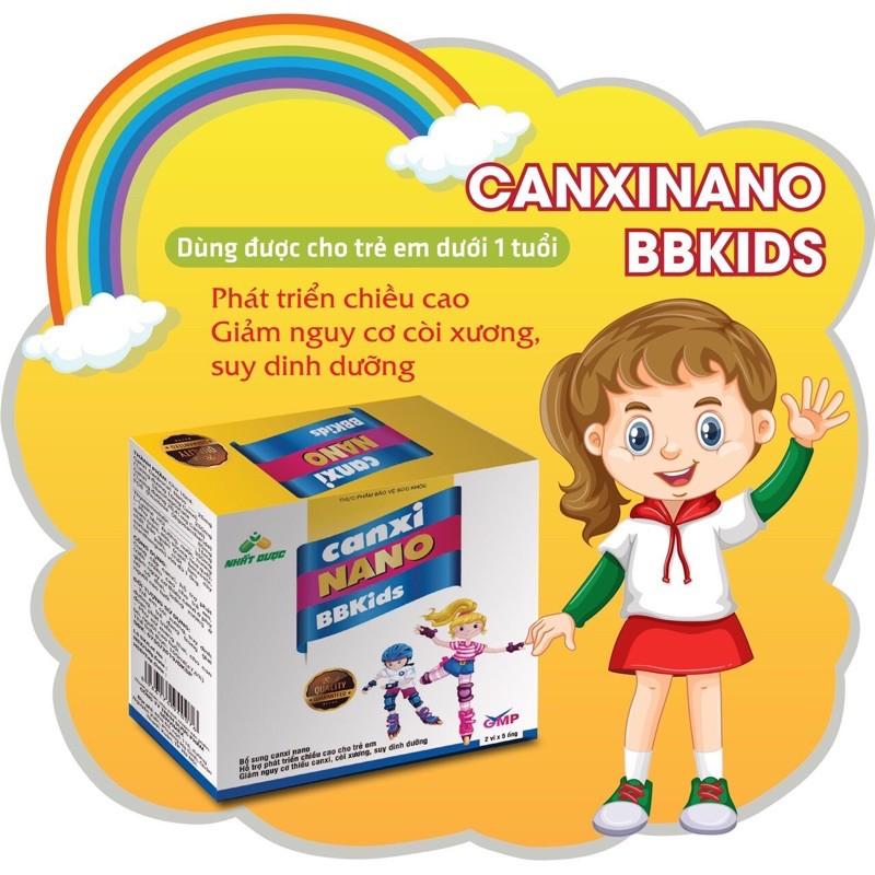 Canxi Nano cho bé - Canxi Nano BBKids - 10 ống