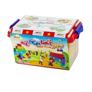 [GIÁ CỰC SỐC] đồ chơi lắp ghép – combo 4 Bộ đồ chơi lắp ghép xếp que thông minh – CHẤT LƯỢNG CAO