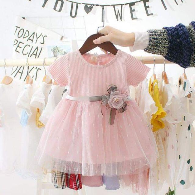 5614342151 - đầm công chúa dễ thương cho bé gái