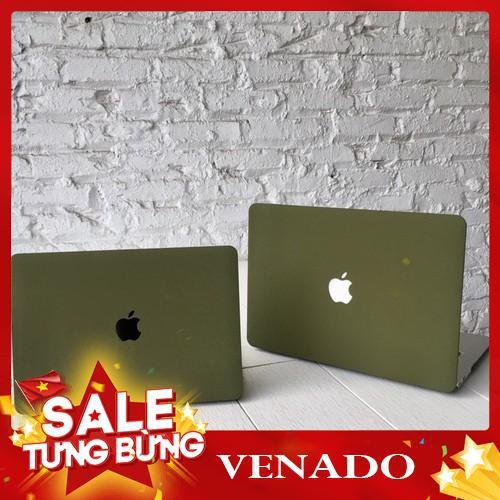 [Xả kho 3 ngày] Case ,Ốp Macbook Màu Xanh Rêu Đủ Dòng (Tặng Kèm Nút Chống Bụi Và Bộ Chống Gãy Sạc) Giá chỉ 260.000₫