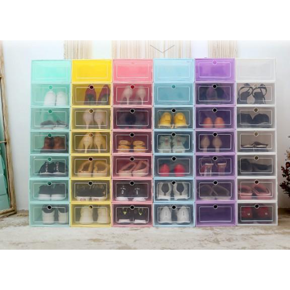 Hộp để giày nhựa cứng trong