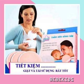 Miếng Lót Thấm Sữa Giặt Được Good Mama Hộp 8 Miếng thumbnail