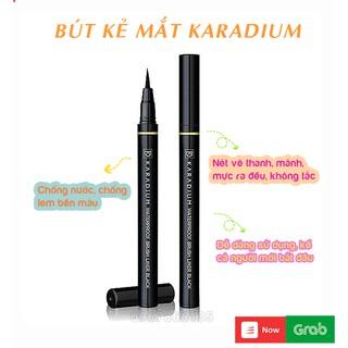 Bút dạ kẻ viền mắt Karadium Waterproof Brush Liner Eyeliner Karadium chống thấm nước thumbnail