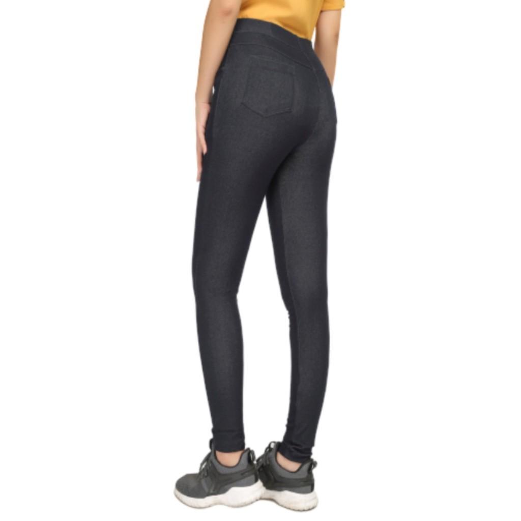 Quần Legging Vicci giả jeans 4 túi thời trang