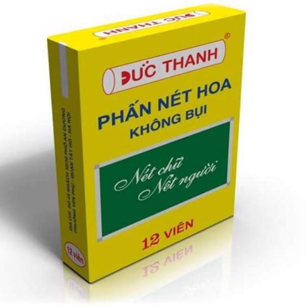 Phấn trắng không bụi Đức Thanh (12 viên/hộp)