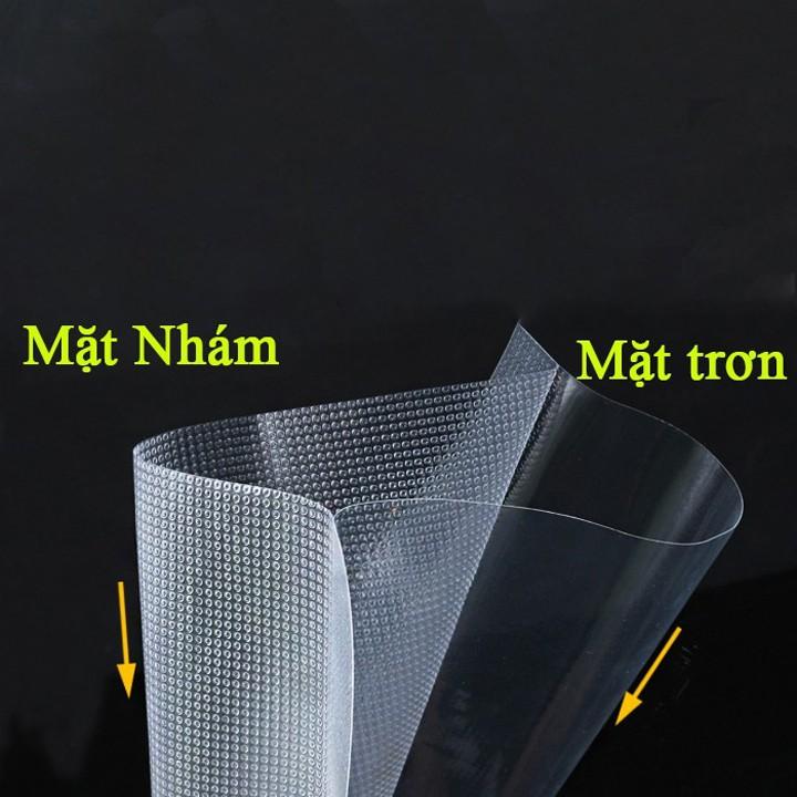 Bộ 50 túi hút chân không một mặt nhám đầy đủ kích thước, túi hút chân không cao cấp dùng cho máy hút chân không