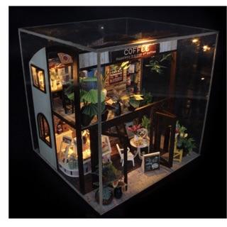 Mô hình nhà gôc DIY – Coffee House M207 (Tặng Mica)