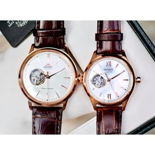 Đồng hồ cặp đôi nam nữ Orient RA-AG0001S & RA-AG0022A00C thumbnail