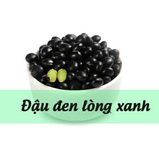 (1kg) đậu đen xanh lòng (đậu sạch tốt cho sức khoẻ)