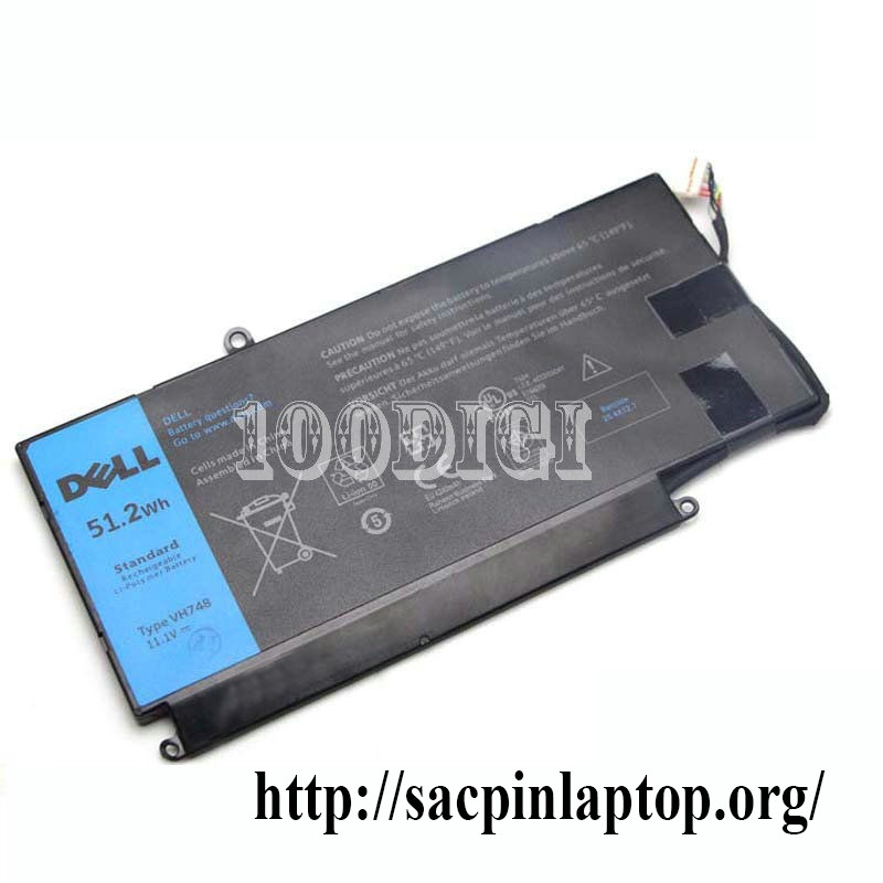 Pin Dell Inspiron 14 5439 Vostro 5460 5470 5560 VH748 Series hàng Zin