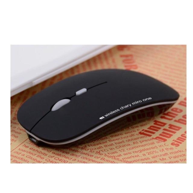 Chuột không dây tự sạc pin cao cấp N5 mới ( đen)
