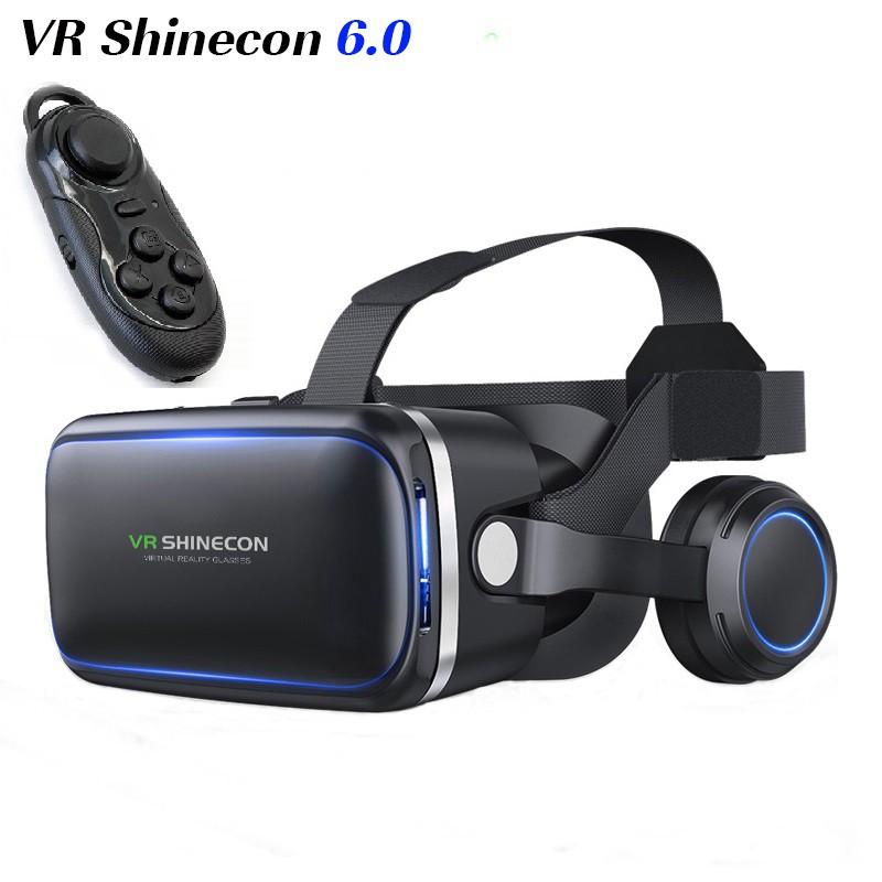 Kính thực tế ảo VR Shinecon version 6 tặng kèm tay game