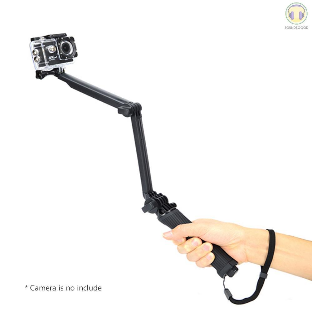 COD Go Pro Selfie Stick Waterproof 3 Way Extendable Camera Handle Foldable Tripod Adjustable Mount for Gopro Hero 5 6 4 - 21956059 , 3210938364 , 322_3210938364 , 171519 , COD-Go-Pro-Selfie-Stick-Waterproof-3-Way-Extendable-Camera-Handle-Foldable-Tripod-Adjustable-Mount-for-Gopro-Hero-5-6-4-322_3210938364 , shopee.vn , COD Go Pro Selfie Stick Waterproof 3 Way Extendable