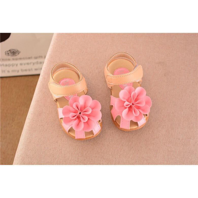 ⚡️HÀNG MỚI HOT⚡️ Sandal hoa rọ A016 cho bé gái 1-5 tuổi