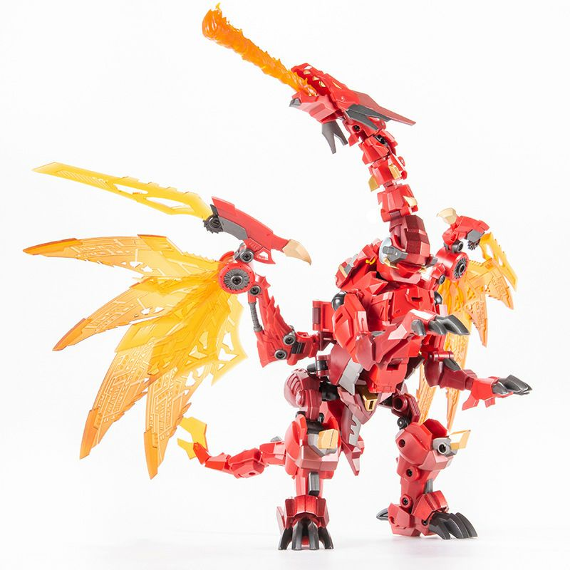 Mô hình Transformers Megatron Beast War- Jinbao Flame Devil