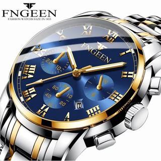 Đồng Hồ Nam Cao Cấp Sành Điệu FNGEEN F606 Thời Trang Đẳng Cấp