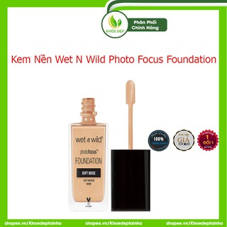 [ CHÍNH HÃNG ] Kem Nền Wet N Wild Photo Focus Foundation - 30ml