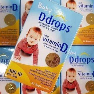 Baby D drop Vitamin D3 cho trẻ sơ sinh
