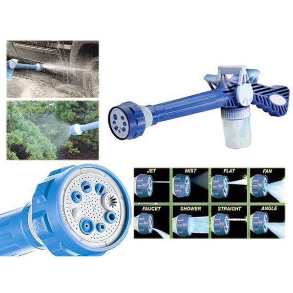 Vòi xịt nước tăng áp EZ Jet Water Canon 8 chế độ xịt