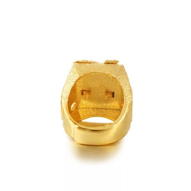 Nhẫn Nam Rồng Mạ Vàng 24K - Nhẫn nam cao cấp