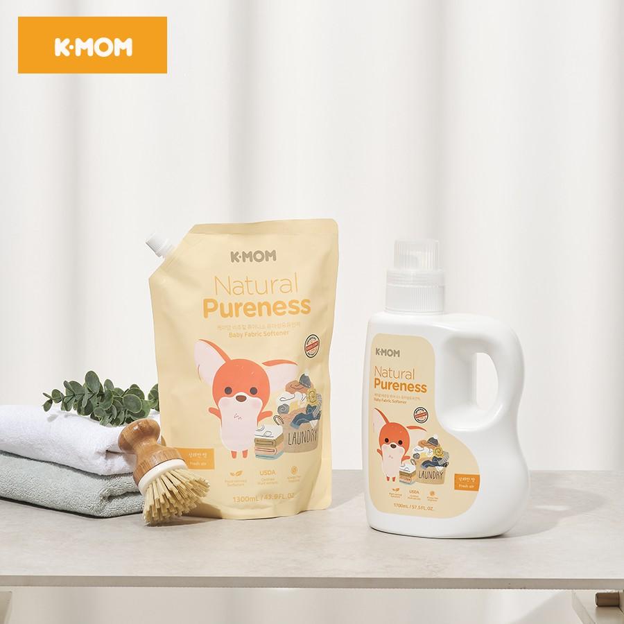 [Mã MKBCSALE7 giảm 8% đơn 250K] Nước xả vải quần áo hữu cơ (organic) Kmom - Nước xả vải K-mom Hàn Quốc