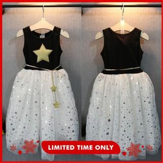 Đầm không tay có hình ngôi sao thời trang cho nữ
