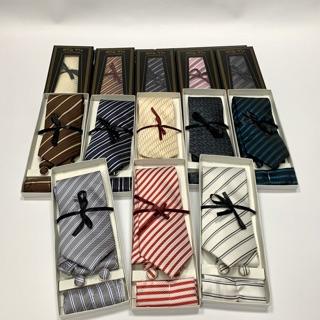 Sét cà vạt silk cao cấp kèm hộp nắp đen- bảng 8cm