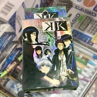 Bộ bài tú lơ khơ B-project anime 54 quân bài 54 ảnh khác nhau J(M(19)