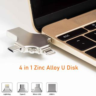Usb 3.0 128gb 4 Trong 1 Cho Iphone Android Phones And Máy Tính