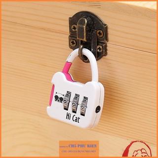 Ổ khóa Mật Mã, Khóa hành lý, balo, va ly chống trộm Khóa mini mật mã số thumbnail