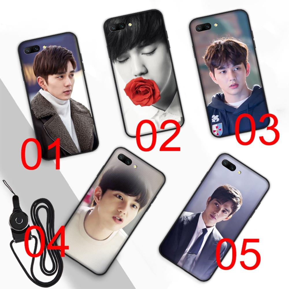 Yoo Seung Ho Soft Case Huawei Mate 20 10 Lite Y9 Y6 prime Pro