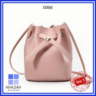 Túi xách nữ thời trang 🍃FREESHIP🍃túi nữ cổ rút form đứng nhiều màu cực kì sành điệu AH1274