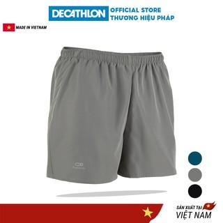 Quần chạy bộ nam DECATHLON run dry nhanh khô - Xám thumbnail