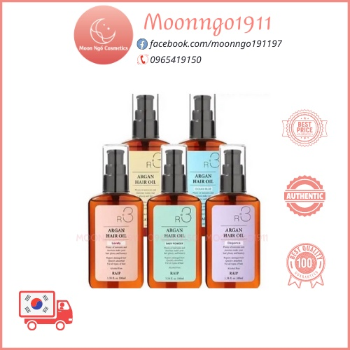 Dầu dưỡng tóc R3 Argan Hair Oil 100ml