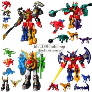Hộp lắp ghép Siêu nhân gao thú gao khủng long (ảnh thật) (khách hàng chat chọn mẫu hoặc shop giao mẫu ngẫu nhiên) thumbnail