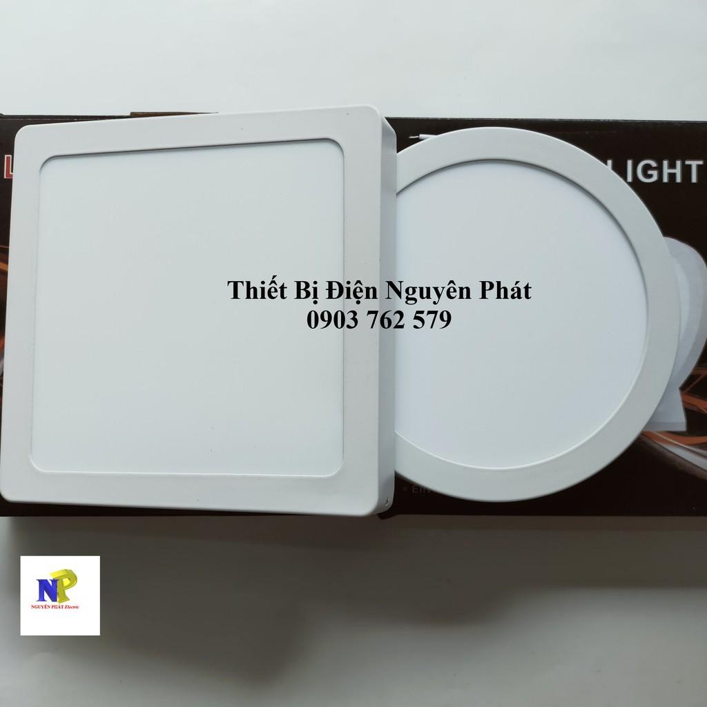 Đèn LED Ốp Trần 12w Tròn/Vuông Siêu Sáng - Tiết Kiệm Điện Năng [ Đèn LED Ốp Nổi ]